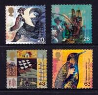 Great Britain 1999 Millenium Series: The Settlers' Tale Set Of 4 Used - 1952-.... (Elizabeth II)