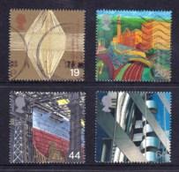 Great Britain 1999 Millenium Series: The Workers' Tale Set Of 4 Used - 1952-.... (Elizabeth II)