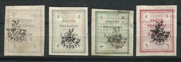 Irán. Reino De Persia. 1906. León Provisorio. - Irán