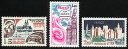 France 1977 Yvert 1947 / 1949 ** TB Bord De Feuille - France