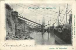 ARGENTINE -  RECUERDO DE ROSARIO - CARGA DE CEREALES - Argentine