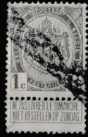 1893 DEFINITIVE USED  STAMPS FROM BELGIUM USED / COAT OF ARMS/SCARCE - 1893-1907 Coat Of Arms