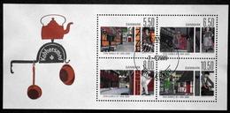 "Denmark 2009  Freilichtmuseum ""Den Gamle By"" Århus      Minr.1517-20 Block 35  (O)  ( Lot  Mappe ) - Used Stamps"