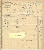 Facture & Traite 1920 / 71 CHALONS SUR SAONE / JOLY-CHAMOIN / Manufacture De Casquettes - 1900 – 1949