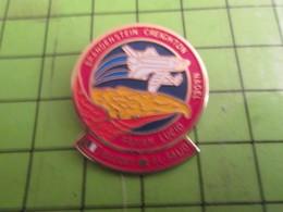 312A Pins Pin's / Rare & De Belle Qualité  THEME : ESPACE / MISSION NAVETTE SPATIALE USA PATRICK BAUDRY - Space