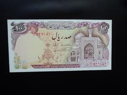 IRAN : 100 RIALS   ND   P 135     Presque NEUF - Iran