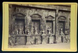 Photographie Photo Albuminée Circa 1870 De Nimes Intérieur Du Temple De Diane  KX - Foto