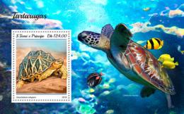 Sao Tome 2018     Turtles Fauna   S201811 - Sao Tome And Principe