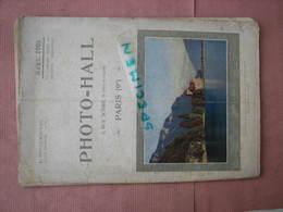 PHOTO-HALL 1908 Catalogue 112 Pages 18X26 Nombreux Clichés Sur Appareils - Appareils Photo