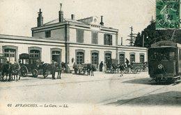 50 - AVRANCHES - La Gare - Avranches