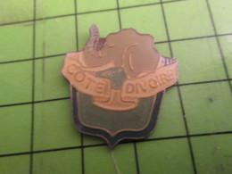 312A Pins Pin's / Rare & De Belle Qualité  THEME : A NIMAUX / ELEPHANT COTE D'IVOIRE - Animals
