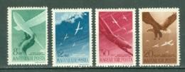 Hongrie  Yvert  PA 53/56  * *  TB - Airmail