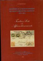 Bournique : Timbre Poste Et Affranchissements Occupation Annexion Alsace Lorraine 1870-1872 - Autres