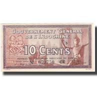 Billet, FRENCH INDO-CHINA, 10 Cents, Undated (1939), KM:85c, SPL - Indochine
