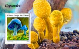 Sao Tome 2018    Mushrooms   S201811 - Sao Tome Et Principe
