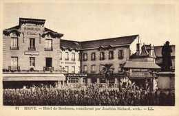 BRIVE  Hotel De Bordeaux ,transformé Par Joachim Richard ,arch RV - Brive La Gaillarde