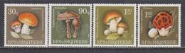 Albanie - 1990 - Champignons - YT 2219/22, MNH** - Albanie