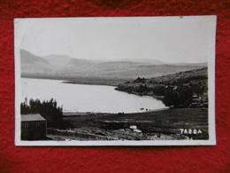 TIBERIADE TABGHA CARTE PHOTO CACHET TIMBRE 1929 - Israel