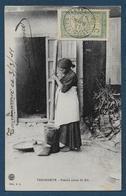 MADAGASCAR - Tananarive - Femme Pilant Du Riz - Madagascar