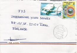 Congo 1995 Loudima Hydravion Sunderland Banknote IFAD Agriculture Cover - Congo - Brazzaville