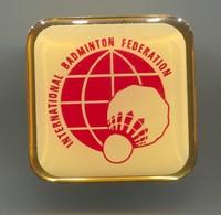 Badminton International  Federation - Vintage Pin, Badge, Abzeichen - Badminton