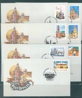 AUSTRALIA  - FDC - 4.8.1982 - HISTORIC POSTOFFICES 2 SETS  - Yv 781-787 - Lot 18679 - Premiers Jours (FDC)
