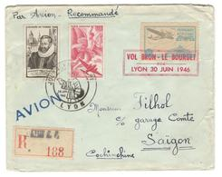11256 - BRON LE BOURGET - 1927-1959 Brieven & Documenten