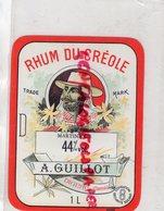 16- DIGNAC- ETIQUETTE RHUM DU CREOLE- MARTINIQUE A. GUILLOT - Rhum