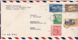 #9127 Cuba, Habana Cover Air Mail Mailed 1948: Native American, Cigare, Post, Conference Of La Mejorana, Special Pmk. - Cuba
