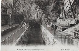 Saint-Pons-de-Thomières. La Source Du Jaurà Saint Pons De Thomières. - Saint-Pons-de-Thomières