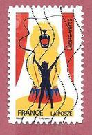 FRANCIA USATO - 2017 - Circo - Dompteur - Lettre Verte - Michel FR 6879 - Francia