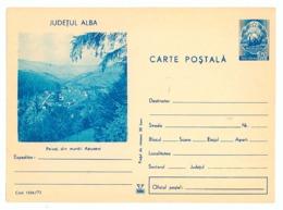 IP 73 - 1226 Mountains APUSENI - Stationery - Unused - 1973 - Nature