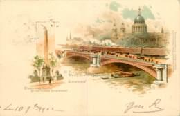 LONDON - ST PAUL FROM BLACKFRIARS BRIDGE - RAPHAEL TUCK N° 2 - England
