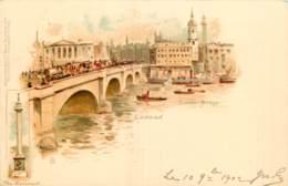 LONDON - LONDON BRIDGE - RAPHAEL TUCK  N°4 - England