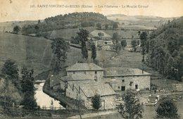 SAINT VINCENT DE REINS(MOULIN _FILATURE - France
