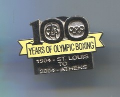 OLYMPICS OLYMPIADE COMMITTEE - Boxing, Vintage Pin, Badge, Abzeichen, Enamel - Olympic Games