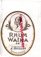 16- BLANZAC- ETIQUETTE RHUM WAIKA -LES PETITS FILS DE A. GUILLOT - Rhum