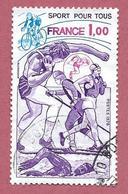 FRANCIA USATO - 1978 - Sport Pour Tous - 1 Franc - Michel FR 2125 - Francia