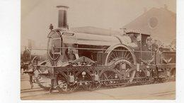 LES LOCOMOTIVES  Carte Photo Great. Western. Road. - Trains