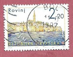 CROAZIA - HRVATSKA - USATO - 1995 - Croatian Towns (III) - Rovinj - 2,20 Kn - Michel HR 344 - Croazia