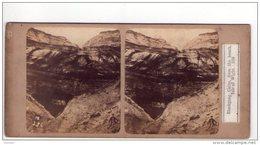 STEREO  Blackgang Isle Of Wight ( Date Manuscrite 1860 ) - Photos Stéréoscopiques