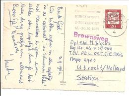 Bfkrt Düsseldorf>NAPO5700 Utrecht>TRIS Suriname. Administratief Stempel BRONSWEG - Suriname ... - 1975