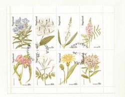 FLEURS DIVERSES SUR VIGNETTES NAGALAND - Pflanzen Und Botanik