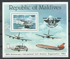 MALDIVAS YVERT H/B  99  MNH  ** - Maldivas (1965-...)