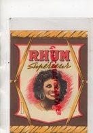ETIQUETTE RHUM SUPERIEUR - Rhum