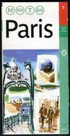 Métro Paris - Paris N° 1 - Complet - Entrée Guillemard - Novembre 2002 - Europe