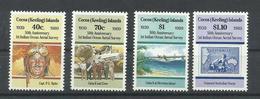 COCOS  YVERT  199/202  MNH  ** - Islas Cocos (Keeling)