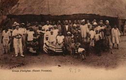 Guinée Française - Groupe D'indigènes - Guinée Française