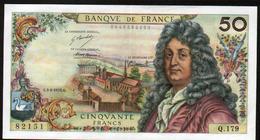 Billet 50 Francs Racine, G.3-6-1971.G,  Q179 - 1962-1997 ''Francs''