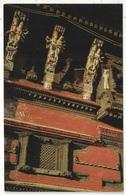 Wood Carving, Kathmandu - Népal